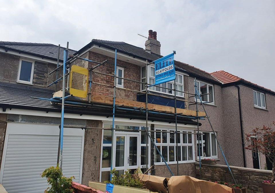Residential Scaffolding Lancashire