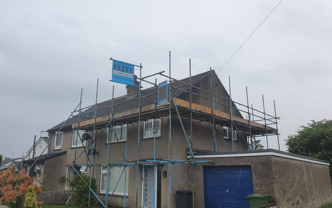 Residential Scaffolding Cumbria