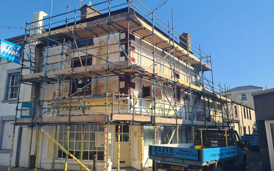 Commercial Scaffolding Morecambe