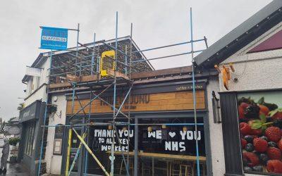 Commercial Scaffolding Cumbria