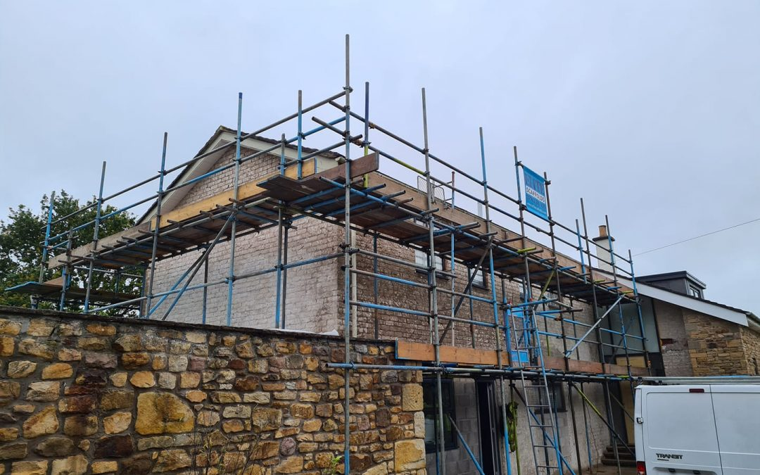 Residential Scaffolding North West