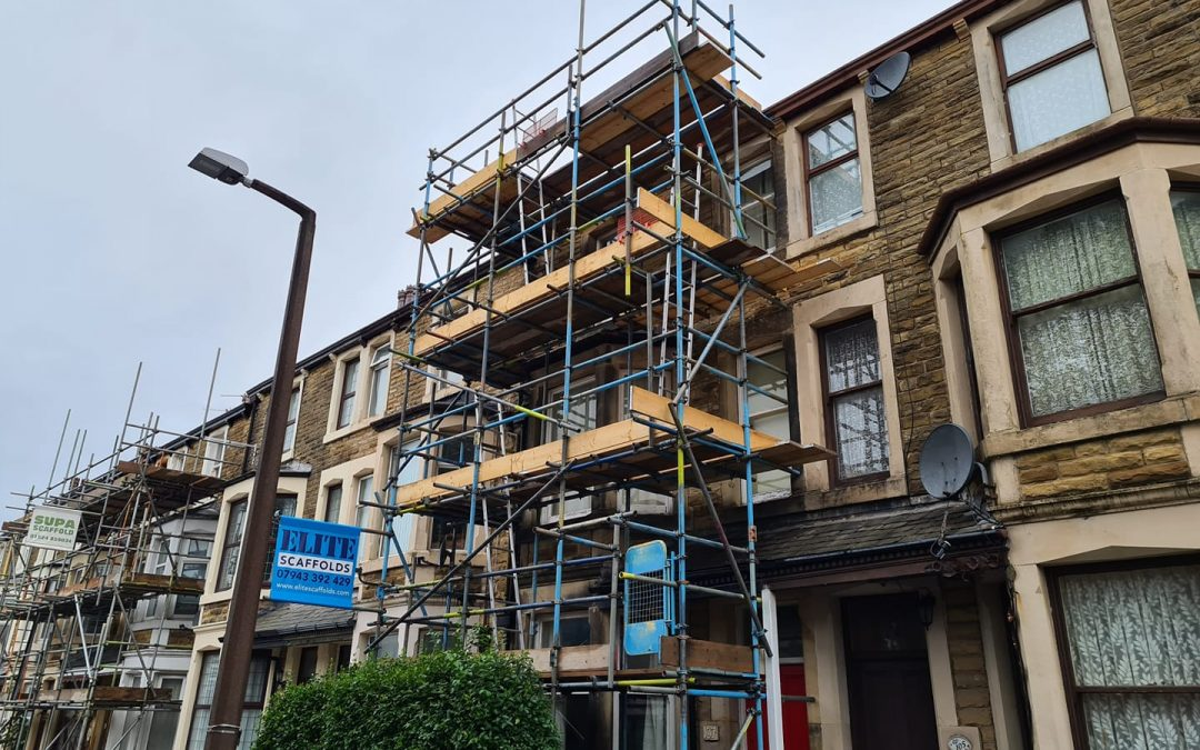 Front and Back Scaffold Lancashire