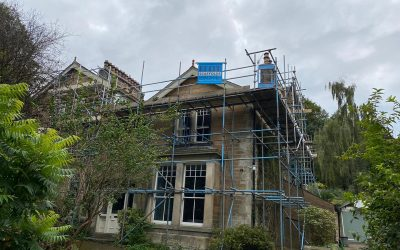 Three-Storey Scaffolding in Lancaster