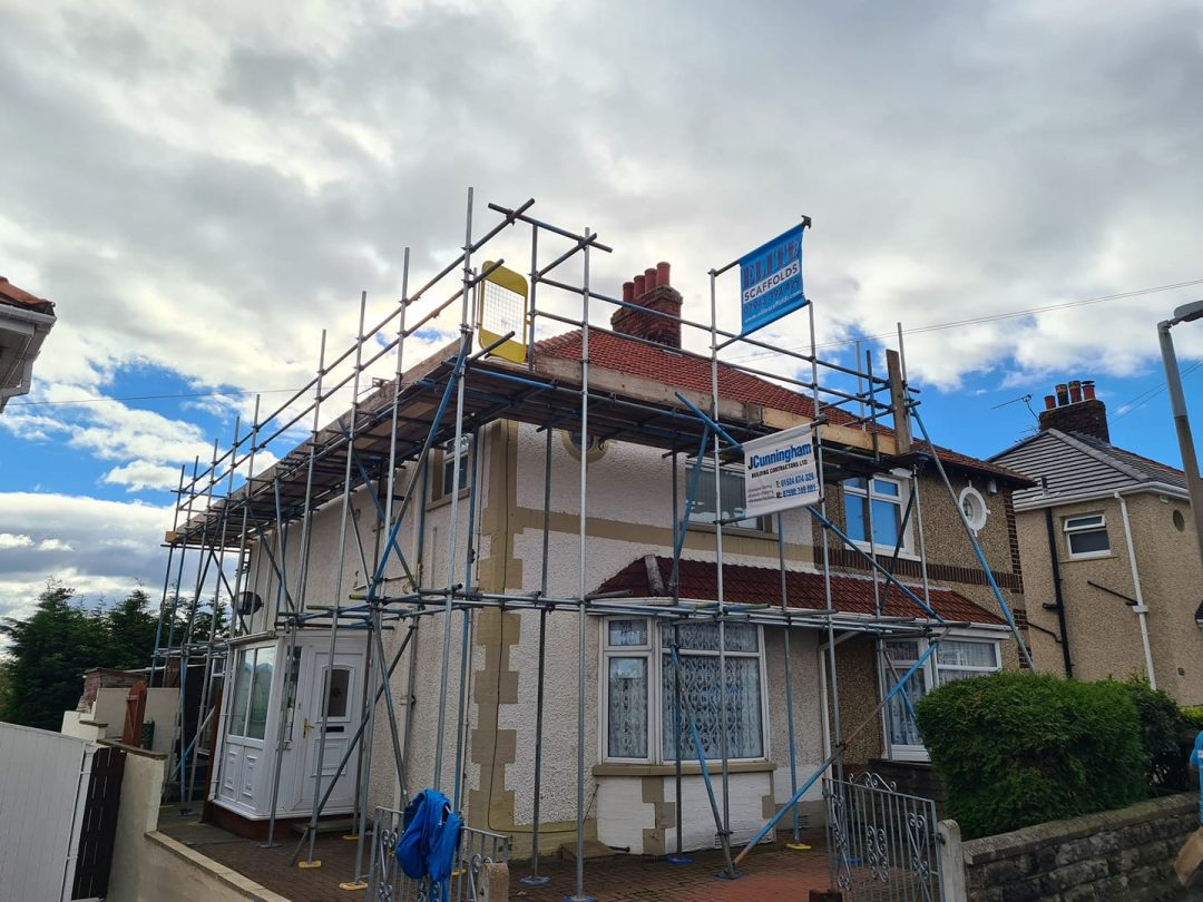 Two Storey Scaffolding Morecambe