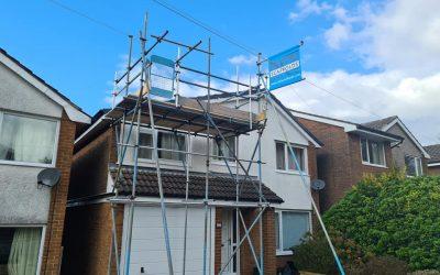 Roof Access Scaffolding Lancashire