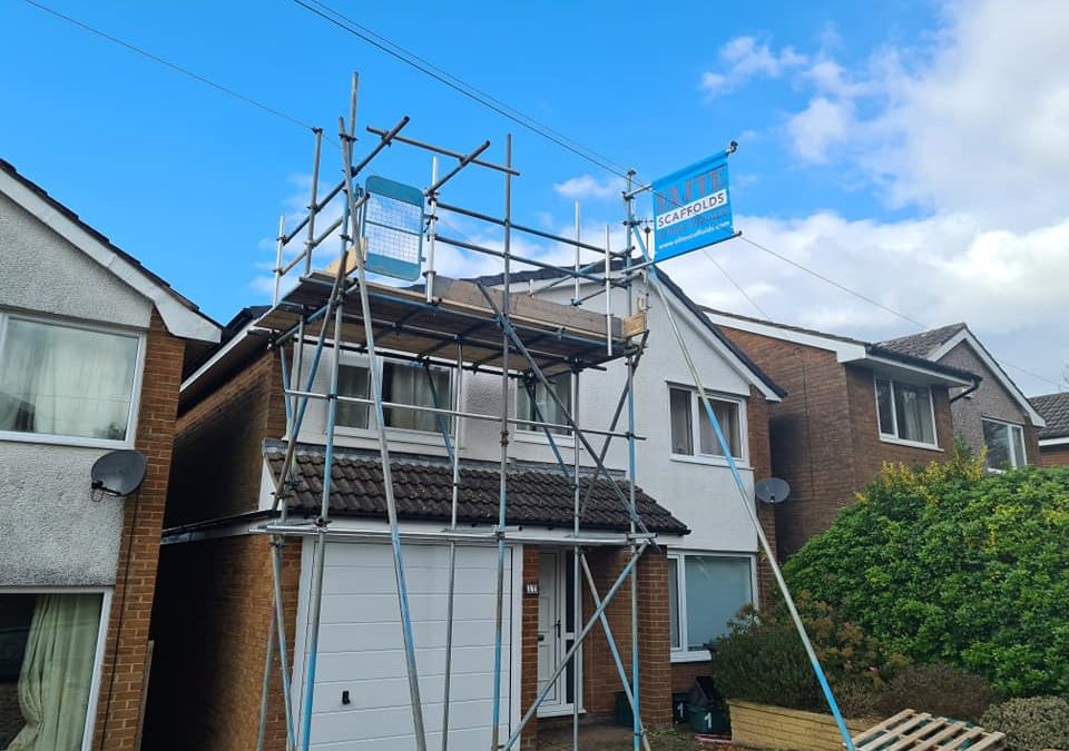 Roof Access Scaffolding Lancashire
