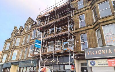 Five Storey Scaffolding in Lancashire