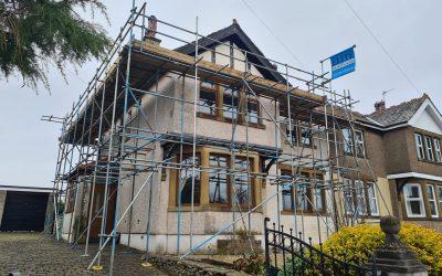 Roof Repair Scaffolding Lancashire