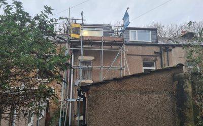 Roof Repair Scaffolding Lancaster