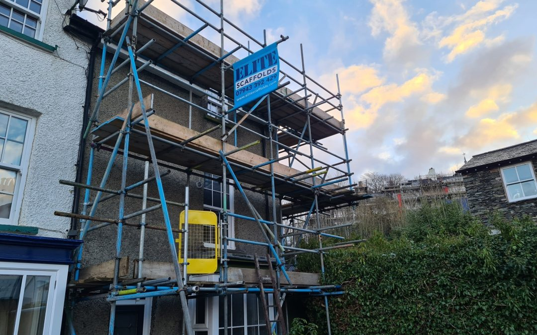 Residential Scaffolding in Windermere