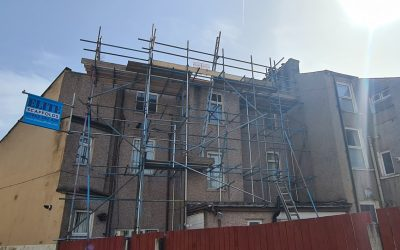 Roof Access Scaffold Morecambe